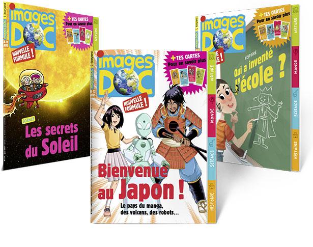 Des couvertures du magazine ImagesDoc