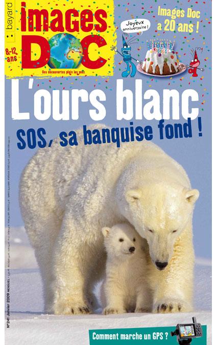 L'ours blanc, SOS, sa banquise fond!