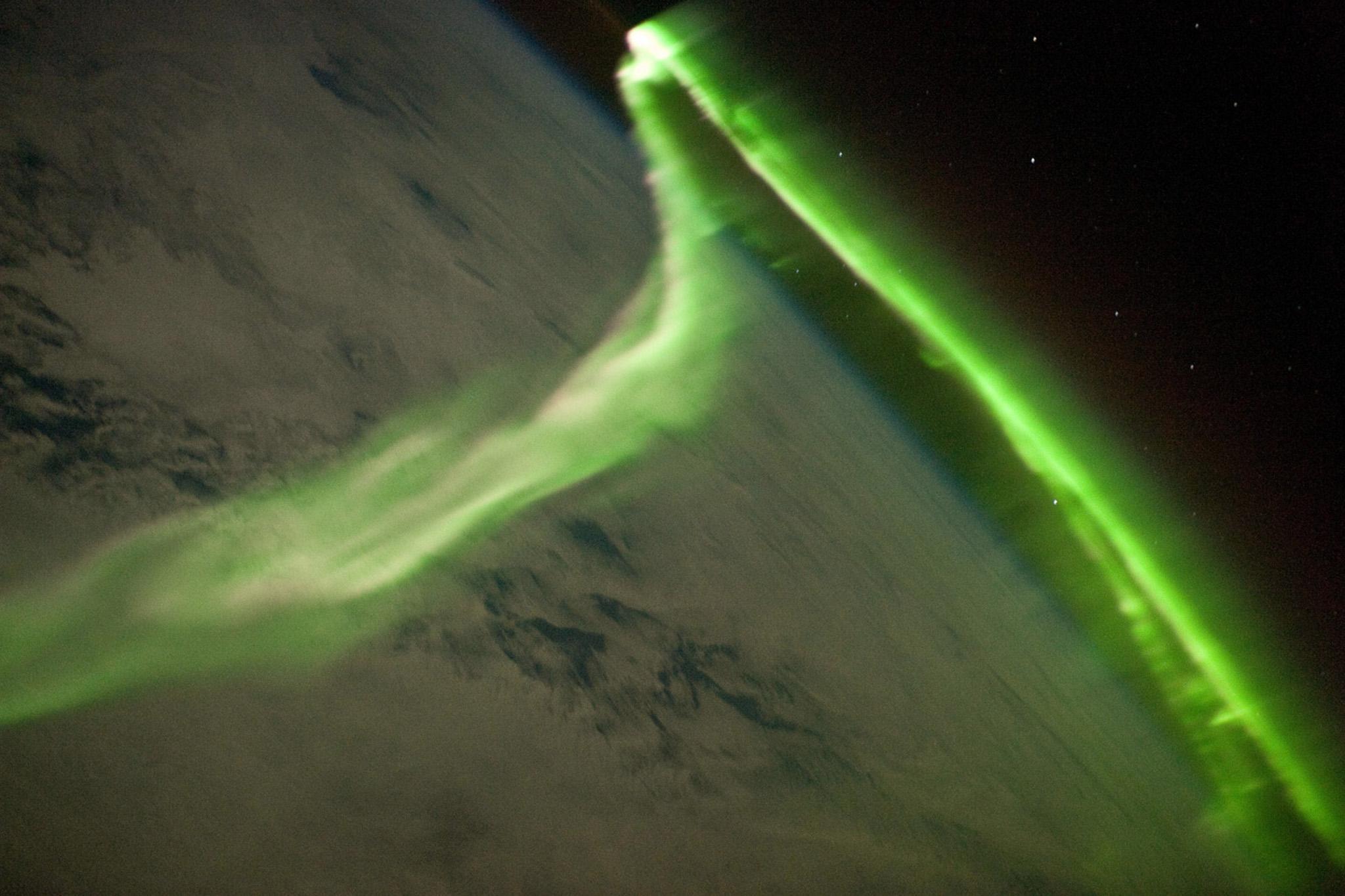 SPACE-ISS-AURORA AUSTRALIS