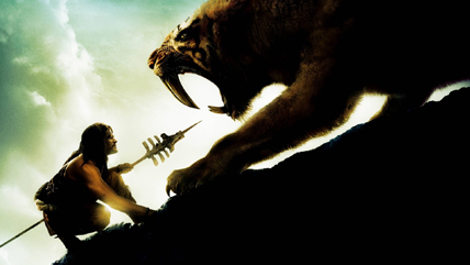 Une image extraite du film -10 000 de R. Emmerich, 2008 © Warner Bros. France