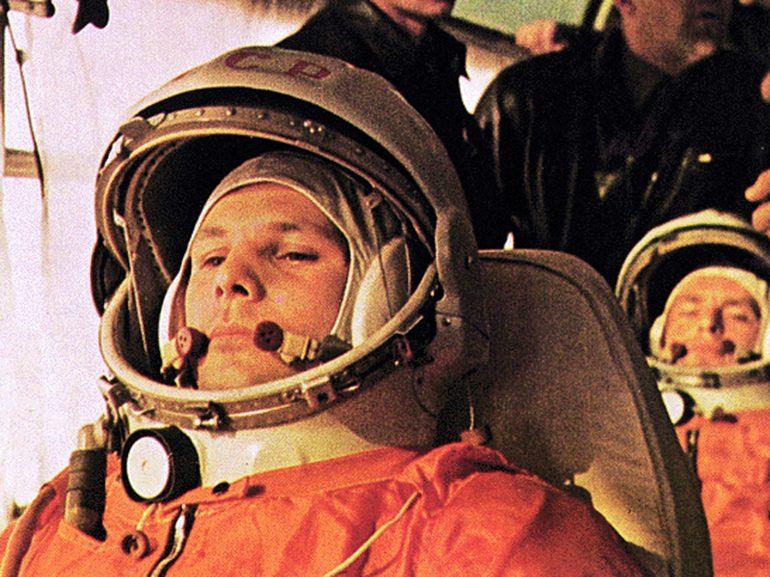 Youri Gagarine en 1961, juste avant le lancement du Vostok 1 © NASA