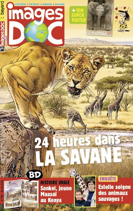 24heures dans la savane