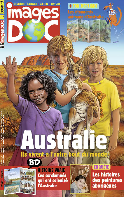 Australie, ils vivent à l'autre bout du monde!