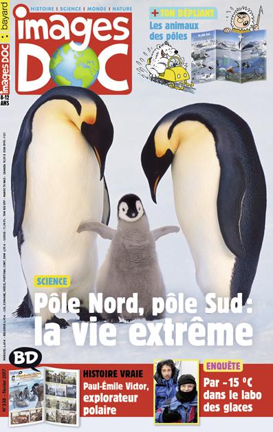 Pôle Nord, pôle Sud: la vie extrême
