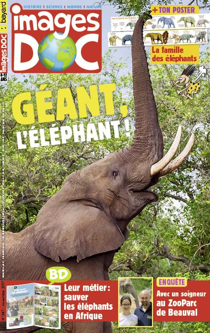 Géant, l'éléphant!