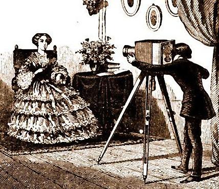 Une prise de vue par M. Daguerre © Musée Niepce.com
