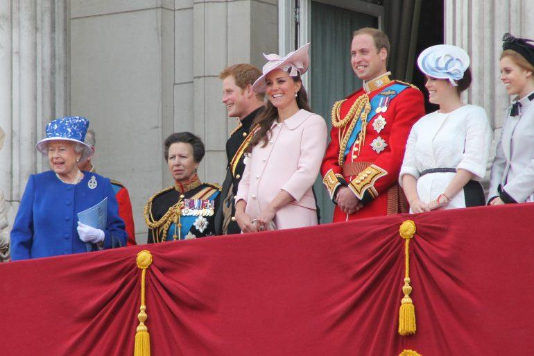 La famille royale d'Angleterre © Carfax2/Wikipedia