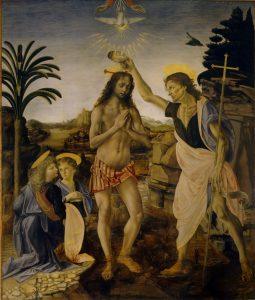 Verrocchio,_Leonardo_da_Vinci_-_Battesimo_di_Cristo_-_Google_Art_Project