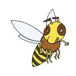 abeille-seule