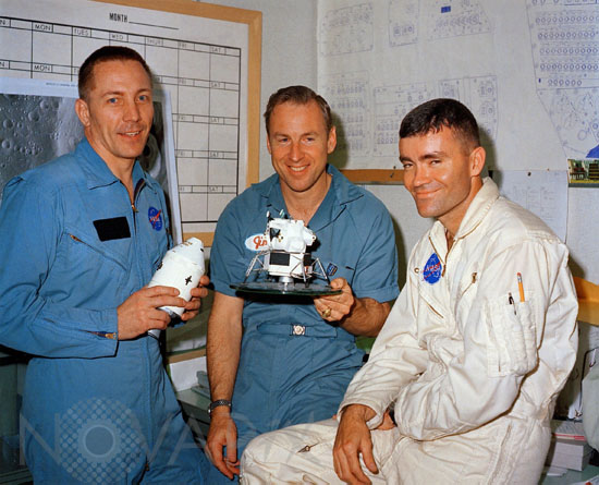 Equipage Apollo 13 - The crew of Apollo 13