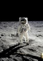 Apollo 11: E. Aldrin sur la lune