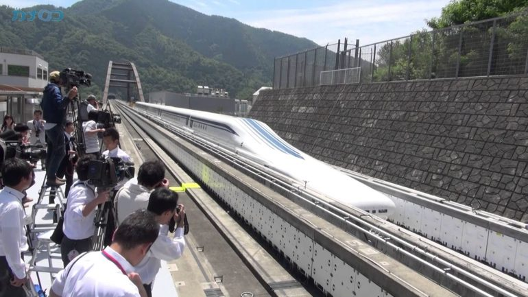 Japan JR Maglev. Avril 2015