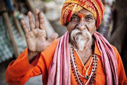 Cet homme est hindou, comme 15 % de la population mondiale. © Shutterstock