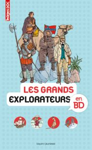 ENcyclopédie Images Doc 'Les grands explorateurs en BD'