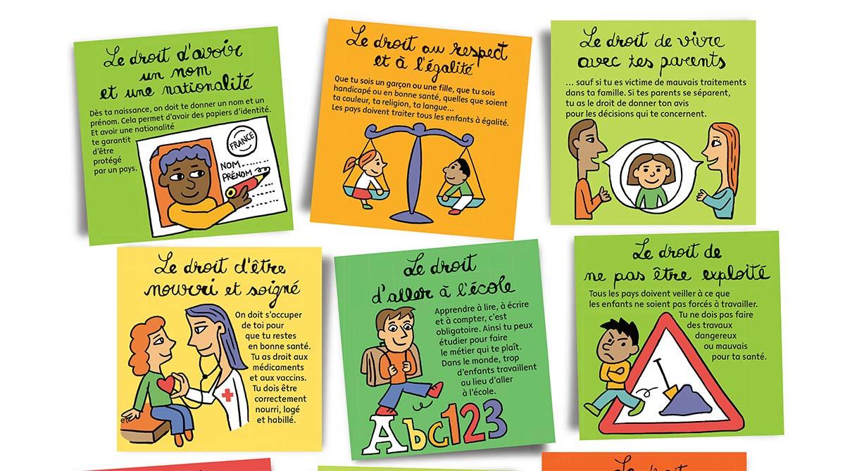 Les droits des enfants expliqués aux 8-12 ans