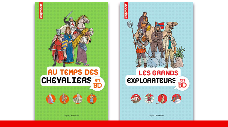 Collection Encyclopédie Images Doc en BD
