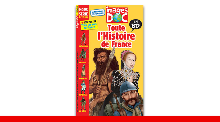 Hors-série - Toute l'Histoire de France en BD