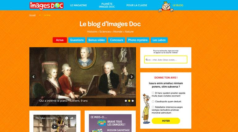 Le blog d'Images Doc