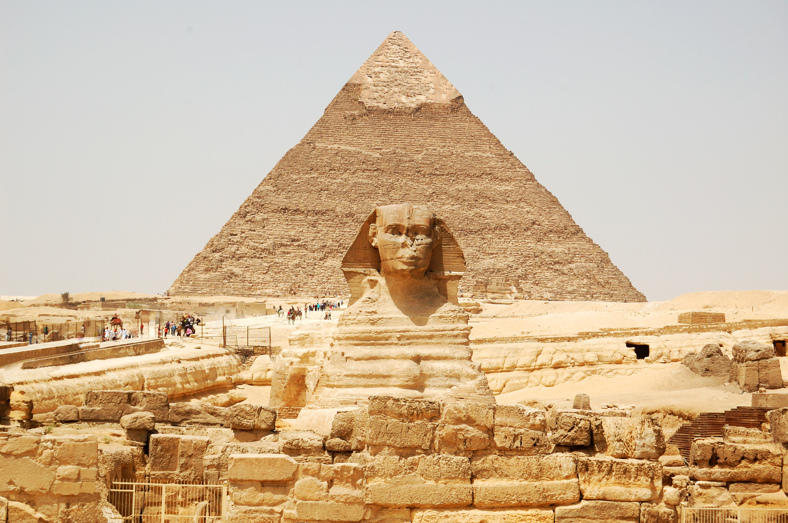 Le Sphinx et la pyramide de Gizeh © Dmtriy /Adobe Stock