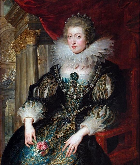 Portrait d'Anne d'Autriche, reine de France, par Pierre Paul Rubens © DR / CC / Wikipedia
