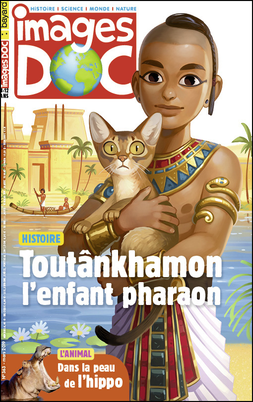 Toutânkhamon, l'enfant pharaon