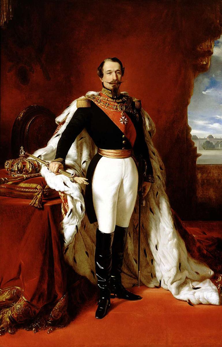 Portrait de Napoleon III, 1855 © Wikipedia