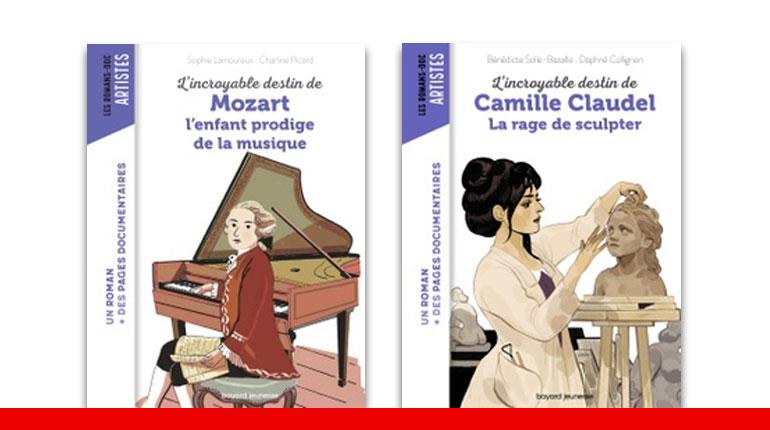 La collection Images Doc chez Bayard Editions - Les romans Docs Artistes