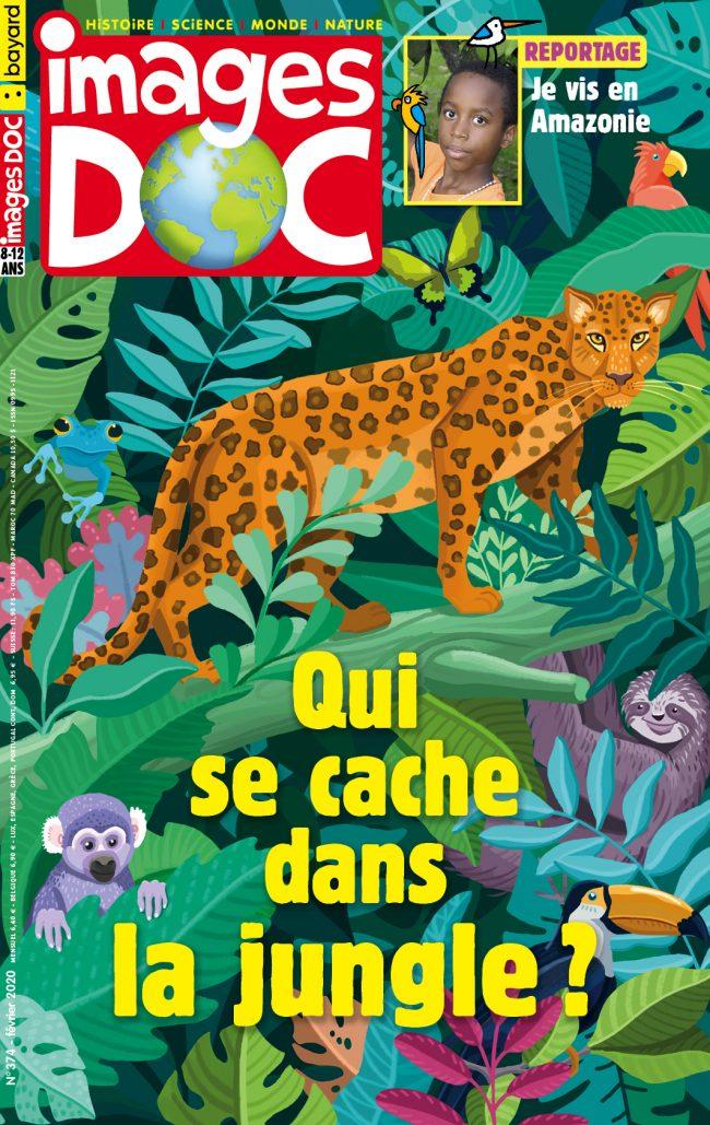 Qui se cache dans la jungle ?