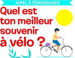 Appel à témoignage, quel est ton meilleur souvenir à vélo ? © TeraVector / AdobeStock