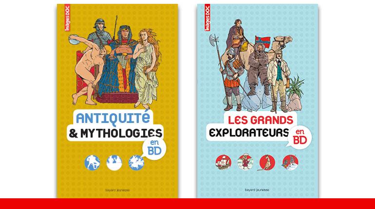 Collection Encyclopédie Images Doc en BD