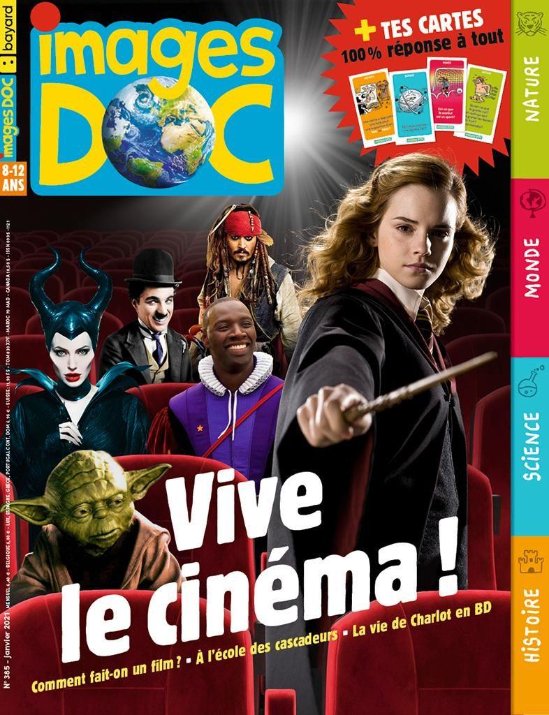 Couverture du magazine Images Docn°385, janvier2021.
