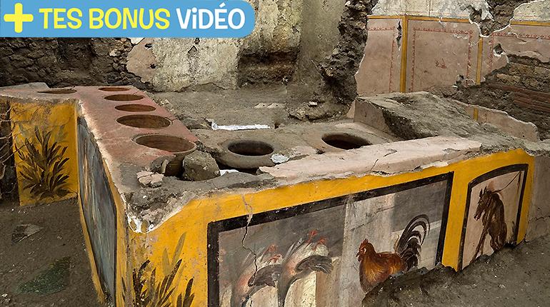 Découvre un fast food antique à Pompeï !