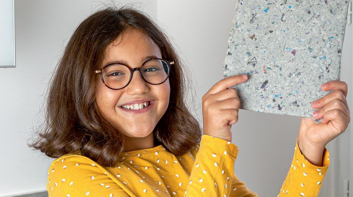 © Rebecca Josset. Comment fabrique-t-on du papier recyclé ?