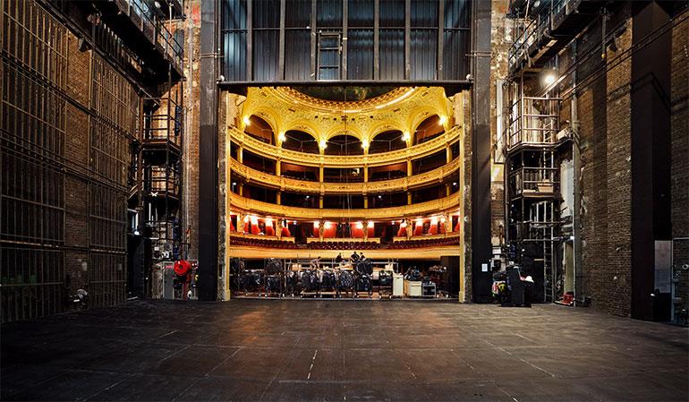 Opéra Comique - travaux