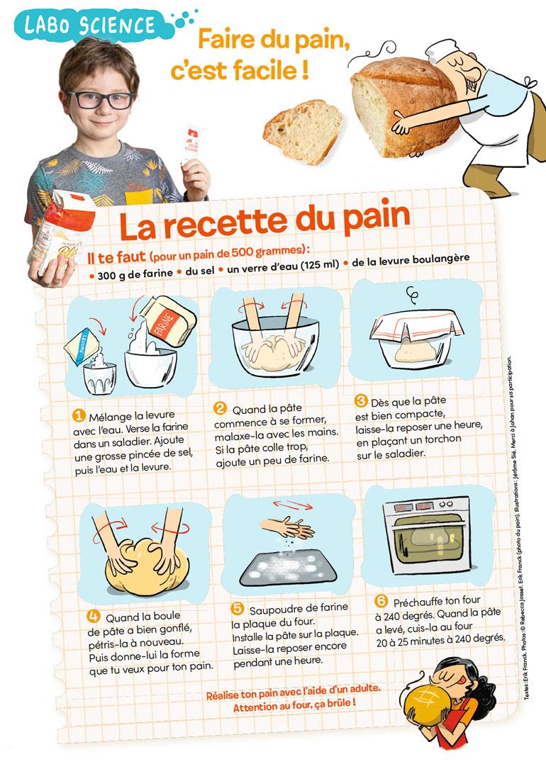 Faire du pain, c'est facile - La recette d'Images Doc